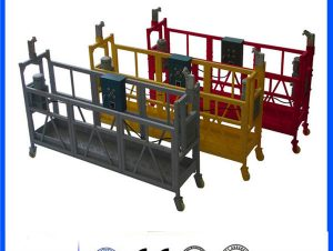 Movable pin - type electrical suspended access platform zlp800 single phase