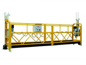 china factory india price steel srp suspended rope platform para sa cleaning building