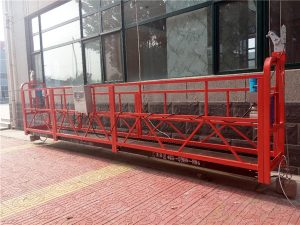 7.5m aluminum suspended rope platform 1000kg na may single phase, gondola Platform