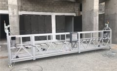 Single Phase Suspended Wire Rope Platform 800 kg 1.8 kw, Pag-aangat ng Bilis 8 -10 m / min