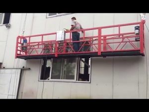Window Cleaning Machine, suspendido platform, gondola scaffolding