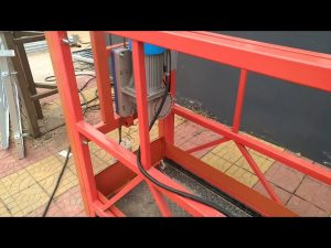 ZLP 630 Aerial Painting Suspended Work Platform para sa Paglilinis ng Windows
