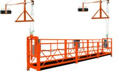 zlp sinuspinde ng access platform / mataas na pagtaas ng window cleaning equipment / gondola lift
